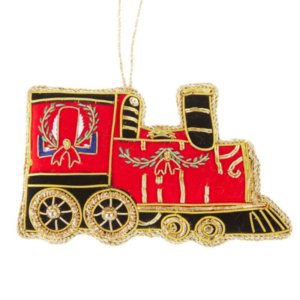 Red Train Christmas Decoration