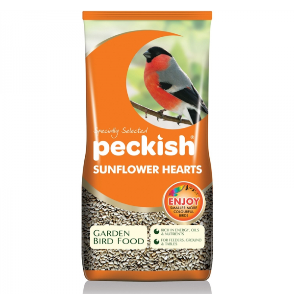 Peckish  Sunflower Hearts - 50% extra free