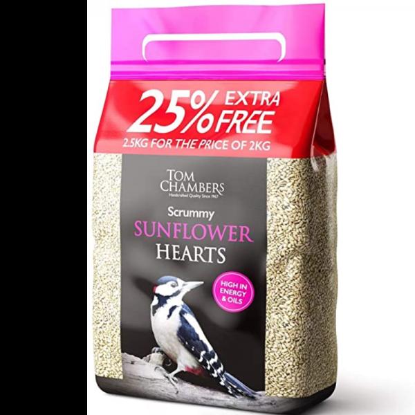 Scrummy Sunflower Hearts