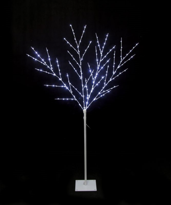 Lit Tree Ultrabrights White