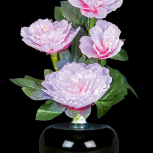 Fibre Optic Flowers Peony Light Display