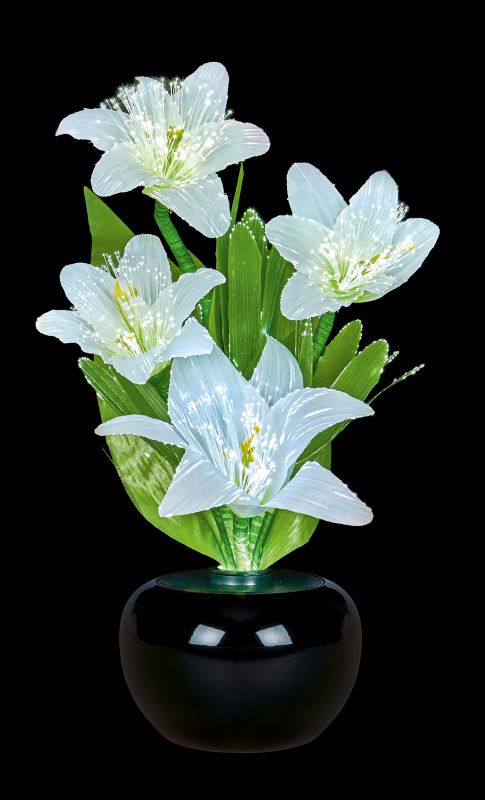 Fibre Optic Flowers Lillies Light Display