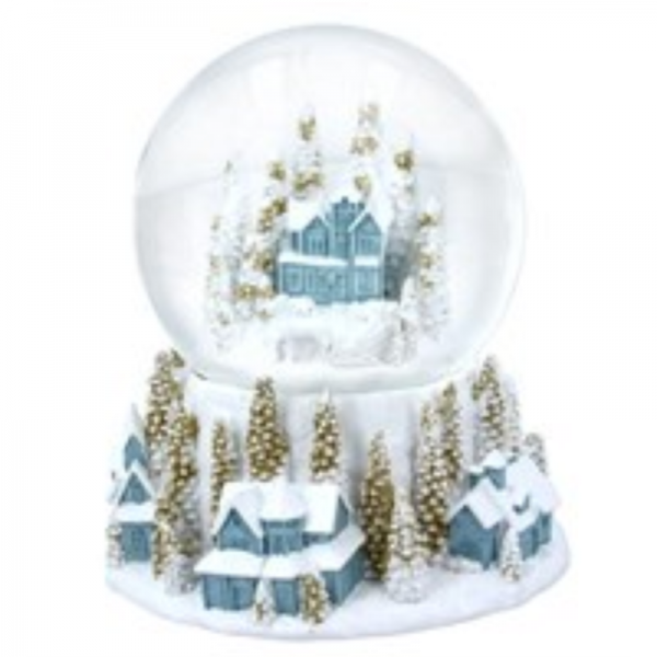 Christmas Village Dome by Gisela Graham