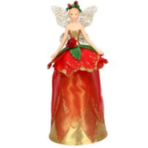 Red Rose Fairy Tree Topper