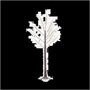 Micro brown LED Tree