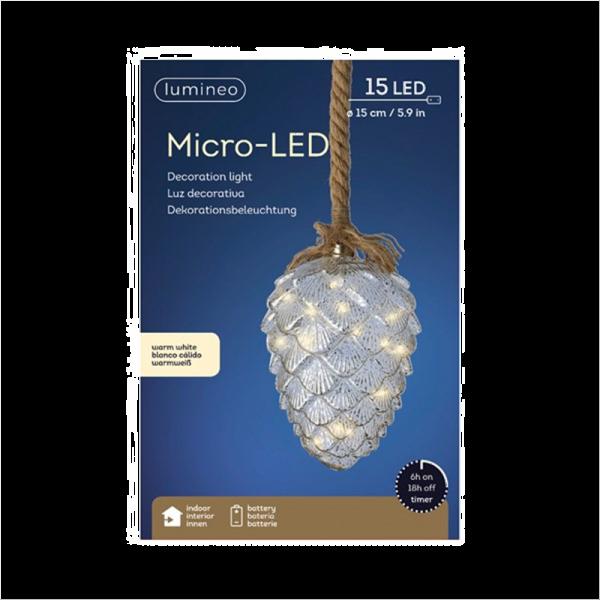 MicroLED Mercury Pinecone