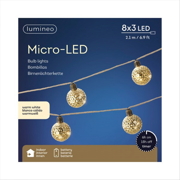 Micro LED Antique Gold
