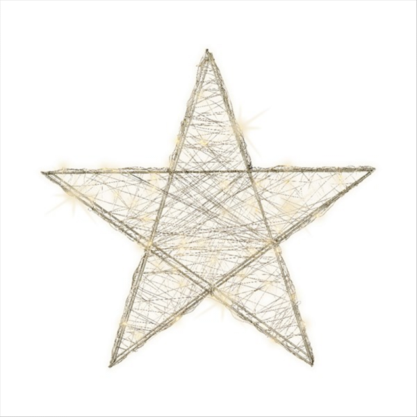 MicroLED Wire Star
