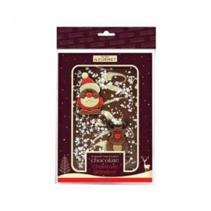 Christmas Rudolph Chocolate Slab - Hanging Bag
