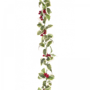 Variegated Holly Garland