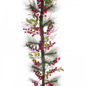 Berry Pine Twig Garland