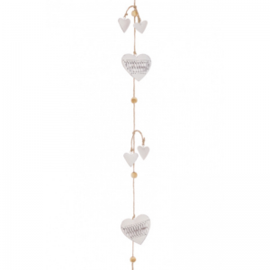 Metal Heart Garland