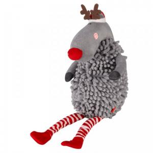Crinkle-Squeak Rudolph