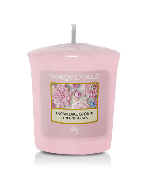 Votive Yankee Candle Snowflake Cookie