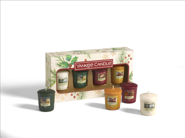4 Votive Candle Gift Set