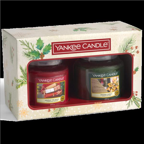 2 Medium  Jar Candle Gift Set