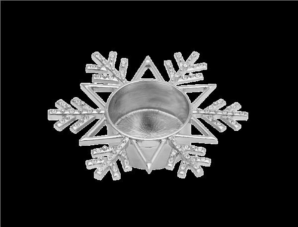 Twinkling Snowflake-Tea Light Holder