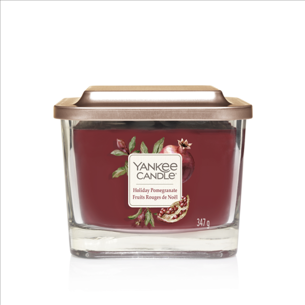 Elevation Medium Jar Holiday Pomegranate