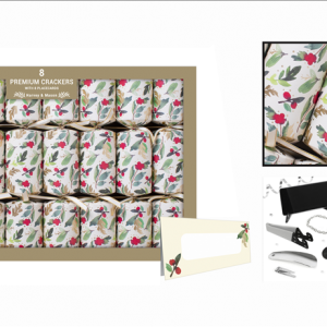 Premium Holly Crackers 8