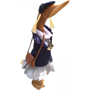 Quack to School- Girl - Dressed Duck