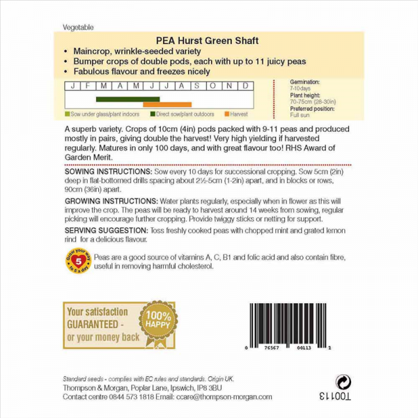 Pea Hurst Green Shaft