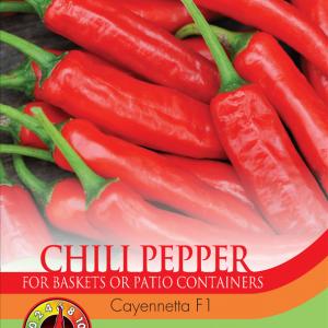 Pepper Chilli Cayennetta