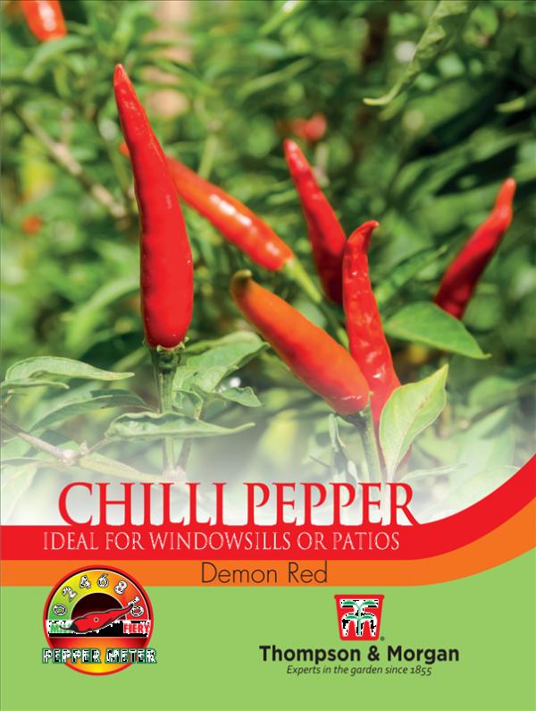 Pepper Chilli Demon Red