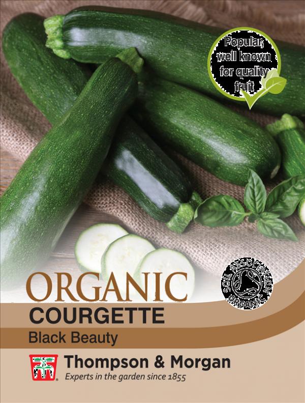 Courgette Black (Organic)