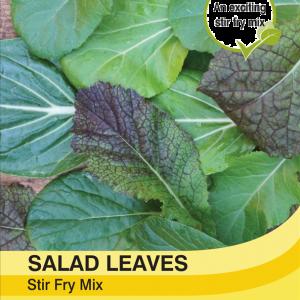 Salad Leaves Stir Fry Mix