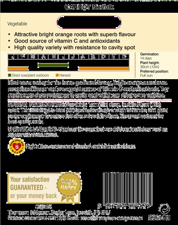 Carrot Norfolk