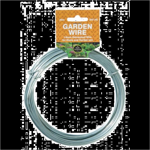 20m Garden Wire 1.6mm Galvanised