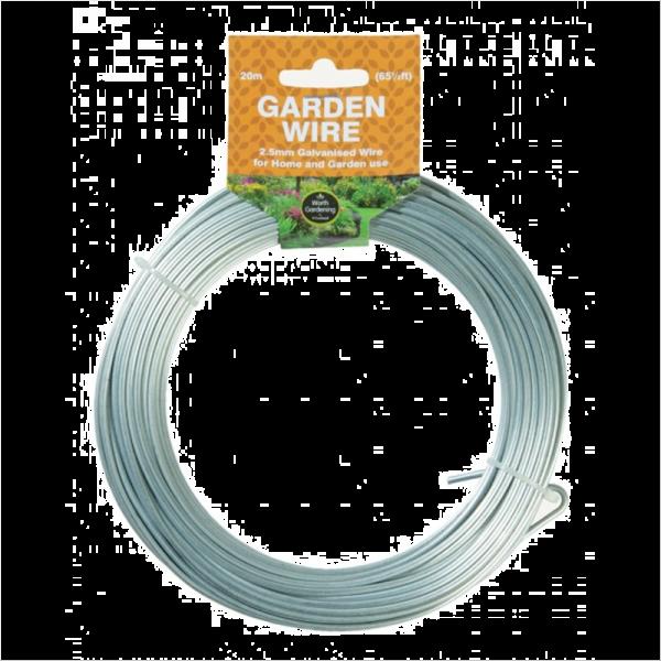 20m Garden Wire 2.5mm Galvanised