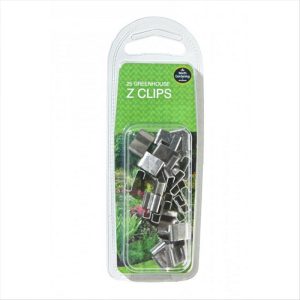 Greenhouse Z Clips (25)