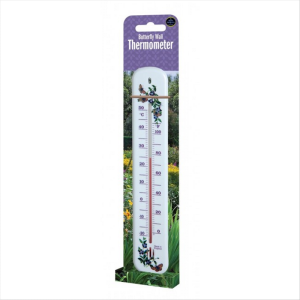 Wall Thermometer Butterfly Design