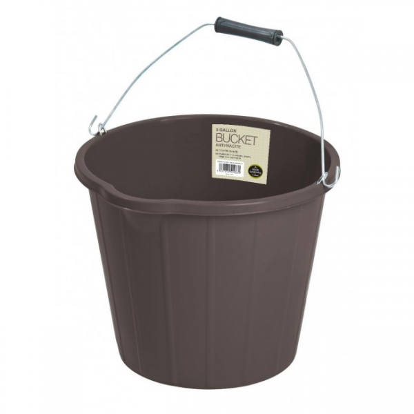 Bucket Anthracite 3 Gallon