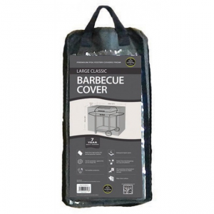 Large Classic Barbecue Cover, Black