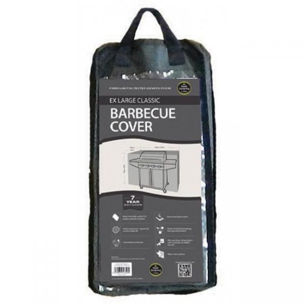 Ex Large Classic Barbecue Cover, Black