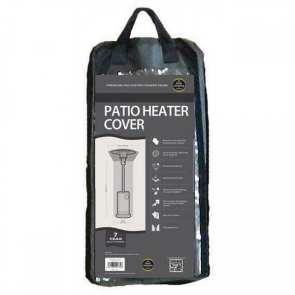 Patio Heater Cover, Black