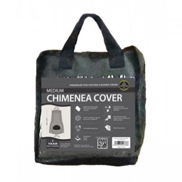 Medium Chimenea Cover, Black