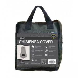 Large Chimenea Cover, Black