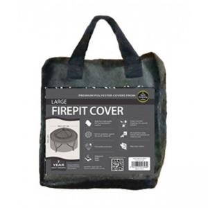 Large Firepit Cover, Black
