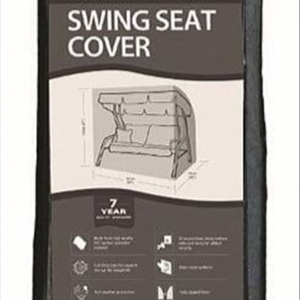 2 Seater Swing Seat Cover, Black