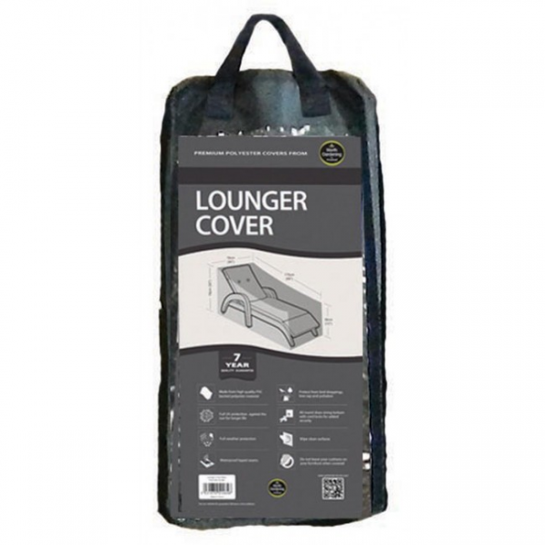 Lounger Cover, Black