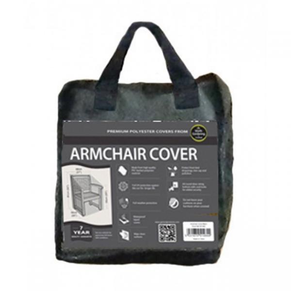 Armchair Cover, Black