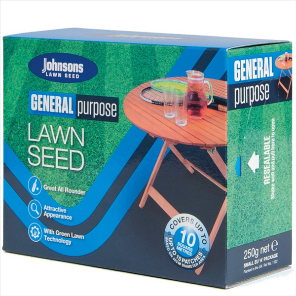 "General Purpose Lawn Seed ""Patch-Pack"" 250g"