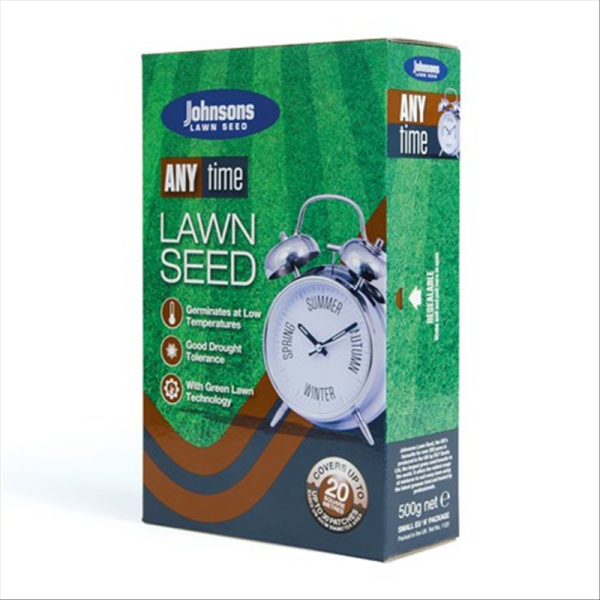 Anytime Lawn Seed 500g