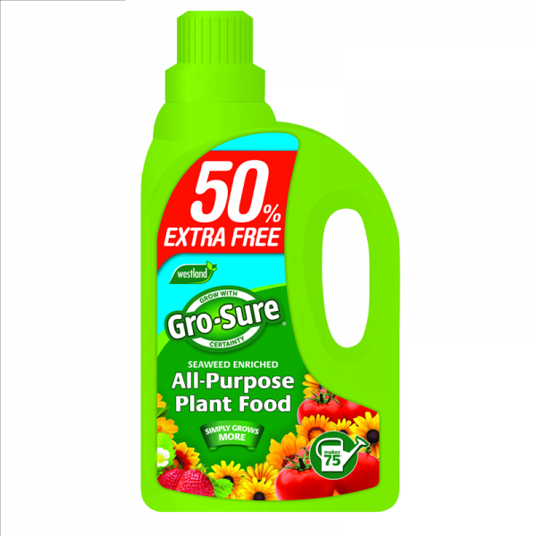 Gro-Sure All Purpose Plant Food +50%