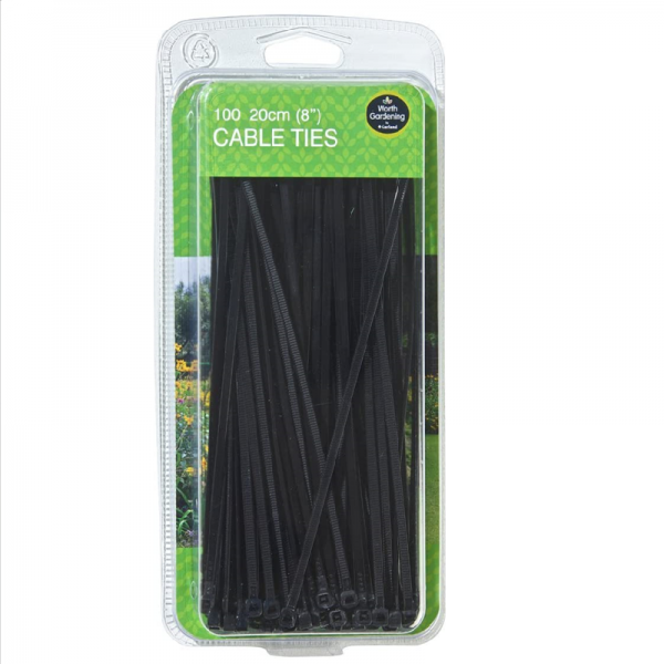 "20cm (8"") Cable Ties (100)"