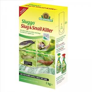 Sluggo Slug & Snail Killer Shaker Box 1kg