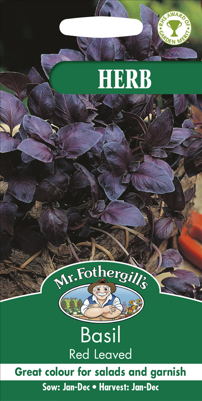 Basil Red Leaved